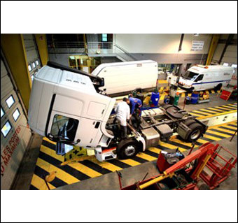 fraikin truck renting belux-machelen (brabant)